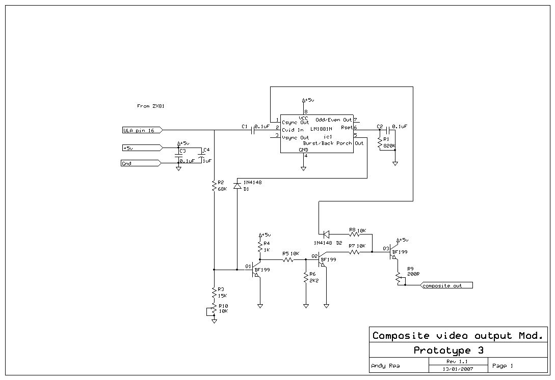 flat keys, 16k, velcro and a zx81 [archive] amibay com forum  zx81 circuit diagram #41